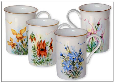 Harlequin Wildflower Mug Set